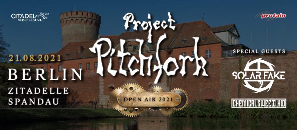 Mit Project Pitchfork in der Zitadelle